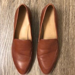 Madewell brown loafer